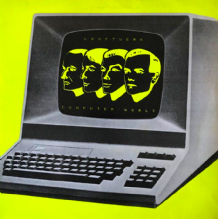 Kraftwerk - Computer World (LP) (VG-/G-VG)